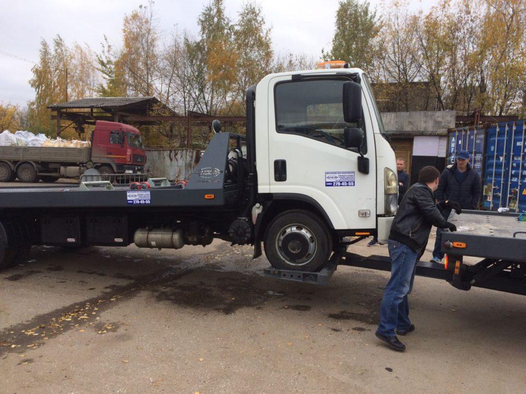 перевозка грузовика частичной погрузкой