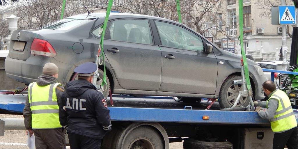 Куда эвакуировали машину в Нижнем Новгороде